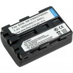 Sony NP-FM50 1700mAh  utángyártott akkumulátor